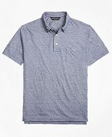 Slim Fit Vintage Inspired Polo Shirt