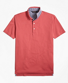 Slim Fit Vintage Wash Polo Shirt