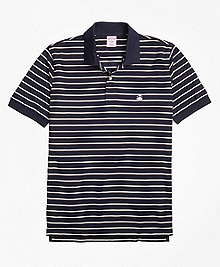 Original Fit Two-Color Stripe Polo Shirt