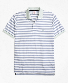 Original Fit Oxford Stripe Polo Shirt