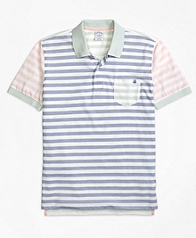 Original Fit Oxford Stripe Fun Polo Shirt
