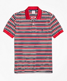 Original Fit Americana Stripe Performance Polo Shirt
