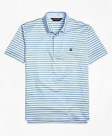 Original Fit Stripe Self Collar Polo Shirt