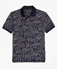 Original Fit Shell Print Polo Shirt