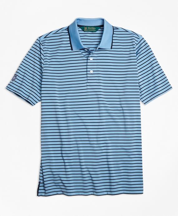 St Andrews Links Bar Stripe Golf Polo Shirt