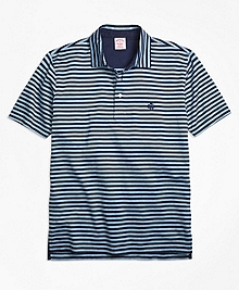 Original Fit Even Stripe Performance Polo Shirt