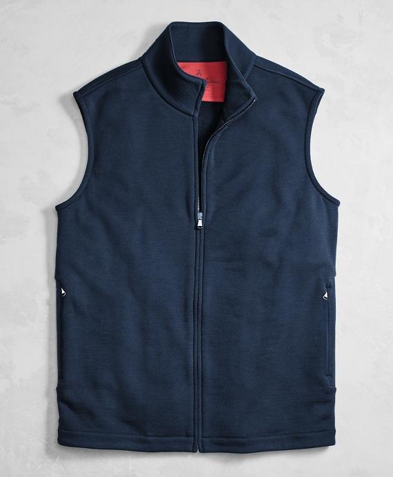 Golden Fleece® BrooksTech™ Performance Full-Zip Vest Navy