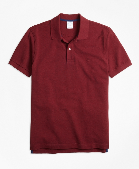 Red cotton polo Brooks Brothers
