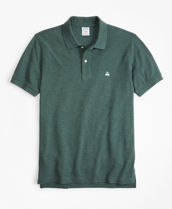 Slim Fit Supima® Cotton Performance Polo Shirt Green