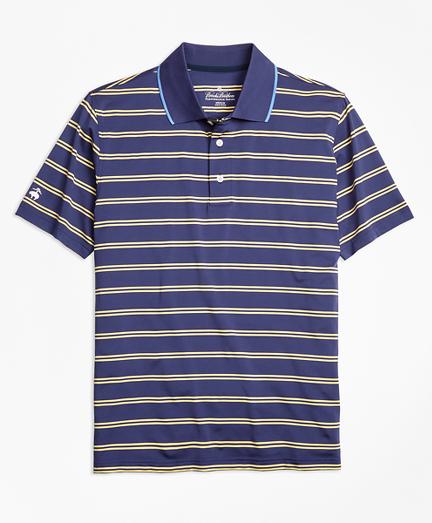 Performance Series Double-Stripe Polo Shirt