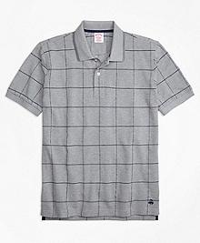 Original Fit Windowpane Polo Shirt