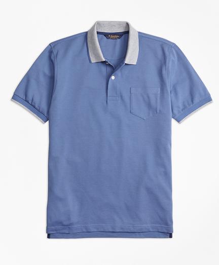 Original Fit Supima® Cotton Pique Pocket Polo Shirt