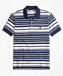 Original Fit Variegated Stripe Polo Shirt