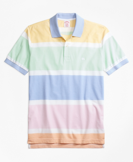 Original Fit Supima® Cotton Road Map Stripe Polo Shirt