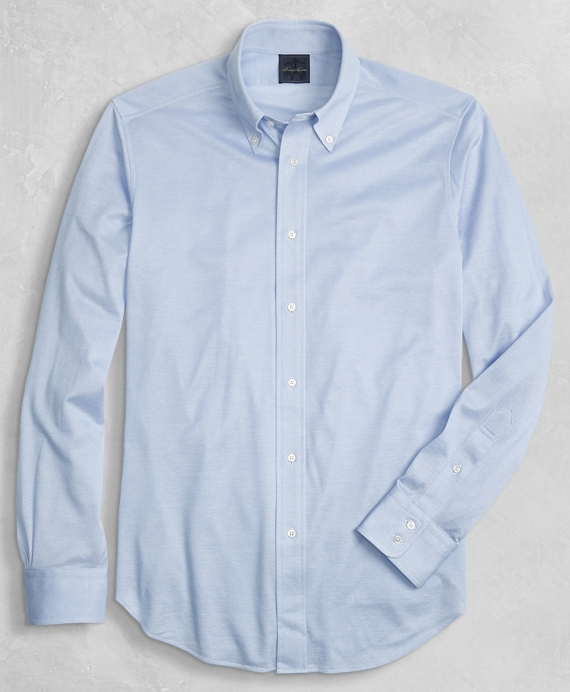 Golden Fleece® Knit Button-Down Oxford Shirt