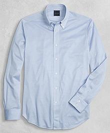 Golden Fleece® Knit Button-Down Oxford Shirt