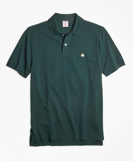 Slim Fit Supima® Cotton Performance Polo Shirt-Basic Colors