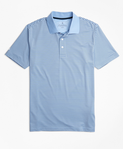 Performance Series Thin Stripe Polo Shirt