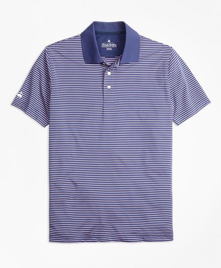 Performance Series Thin Stripe Polo Shirt