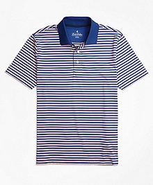 Performance Series Outlined Stripe Polo Shirt