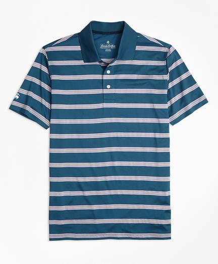 Performance Series Bird's-Eye Stripe Polo Shirt