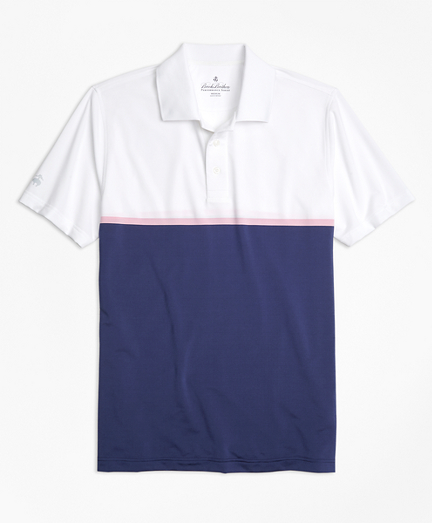 Performance Series Engineered Stripe Polo Shirt