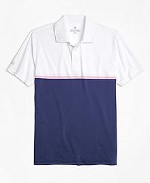 Performance Series Engineered Stripe Polo Shirt