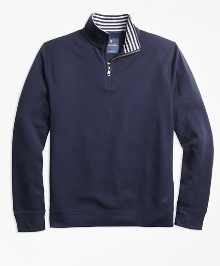 Stripe Half-Zip