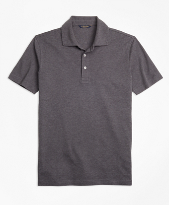 Slim Fit Supima® Cotton Interlock Polo Shirt
