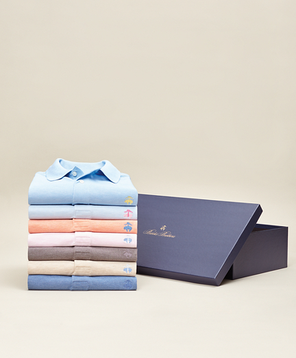 Summer Heathers - Seven-Piece Original Fit Performance Polo Gift Set