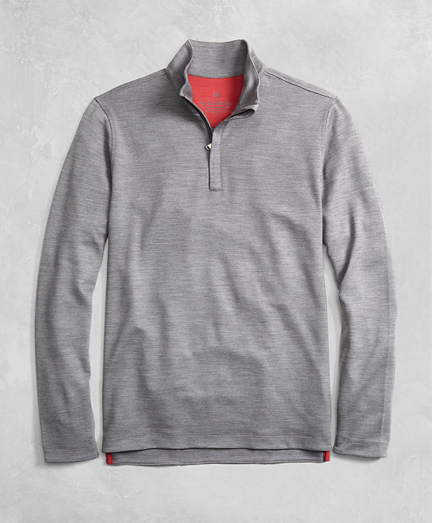 Golden Fleece® BrooksTech™ Performance Interlock Half-Zip