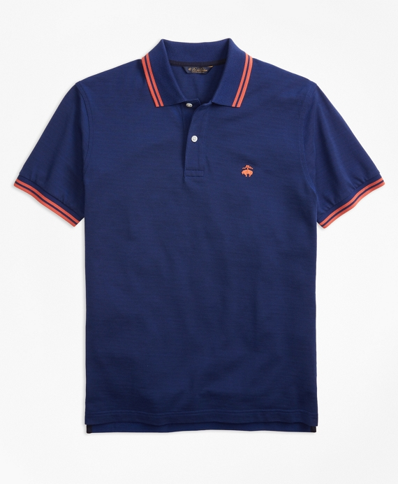 Slim Fit Supima® Polo Shirt Navy