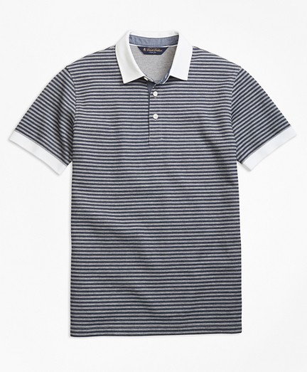 Slim Fit Short-Sleeve Rugby Shirt