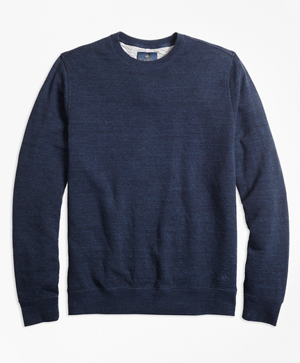Garment-Washed Crewneck Sweatshirt