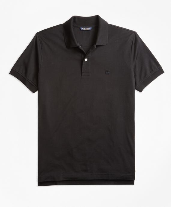 Slim Fit Supima® Compact Jersey Polo Shirt
