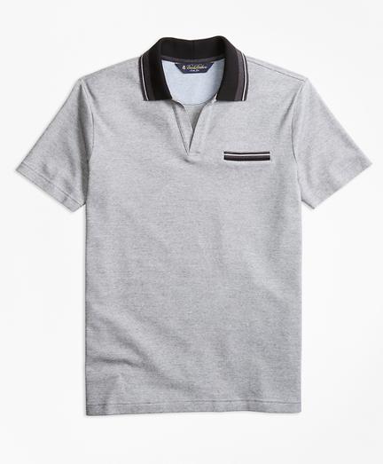 Slim Fit Micro-Bird's-Eye Polo Shirt