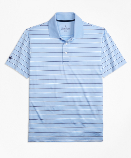 Performance Series Multi-Stripe Polo Shirt