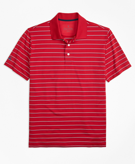 Performance Series Multi-Stripe Polo Shirt. remembertooltipbutton