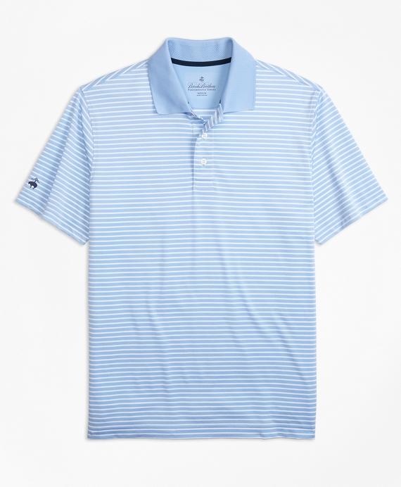 Performance Series Textured Stripe Polo Shirt