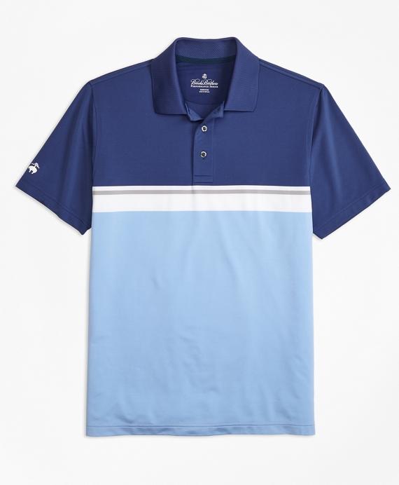 Performance Series Placed Stripe Polo Shirt