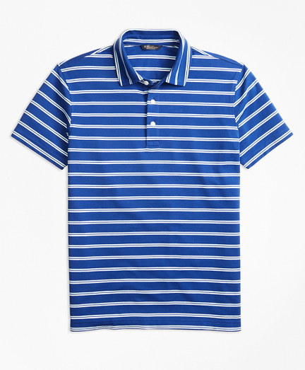 Original Fit Supima® Cotton Stripe Polo Shirt