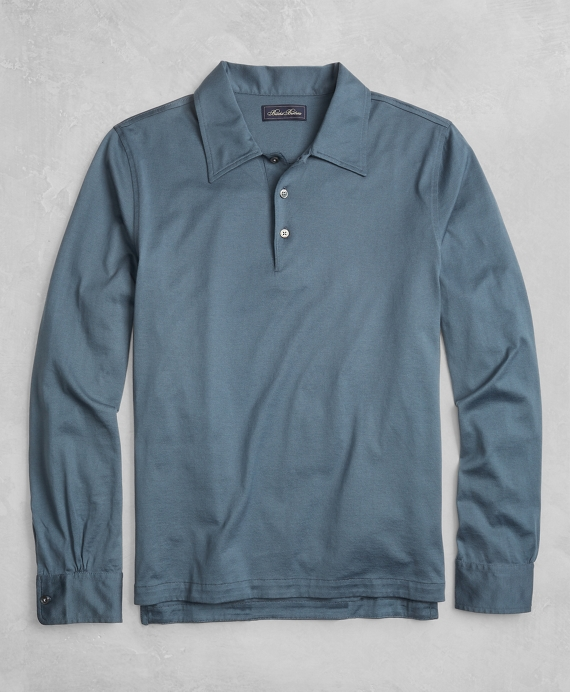 Golden Fleece® Long-Sleeve Polo Shirt