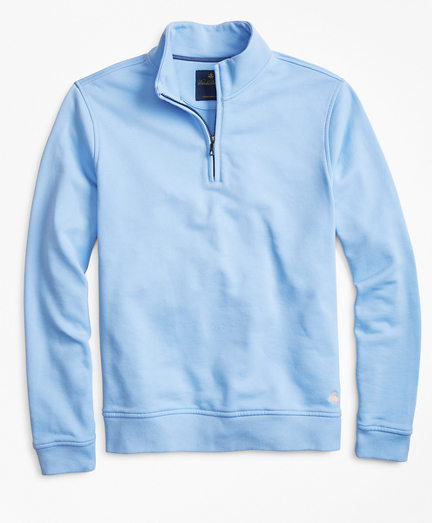 French Terry Half-Zip