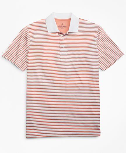 Performance Series Mini-Feeder Stripe Polo Shirt