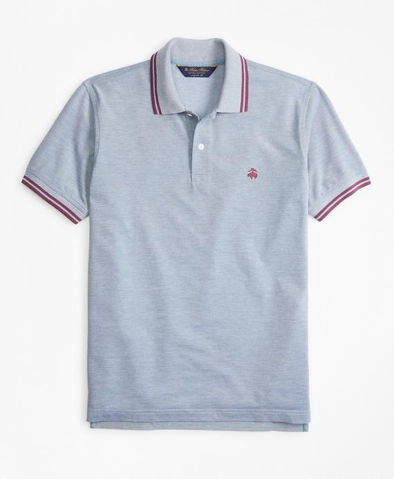 Original Fit Vintage Tennis Polo Blue