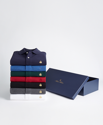 The Classics - Seven-Piece Slim Fit Performance Polo Gift Set