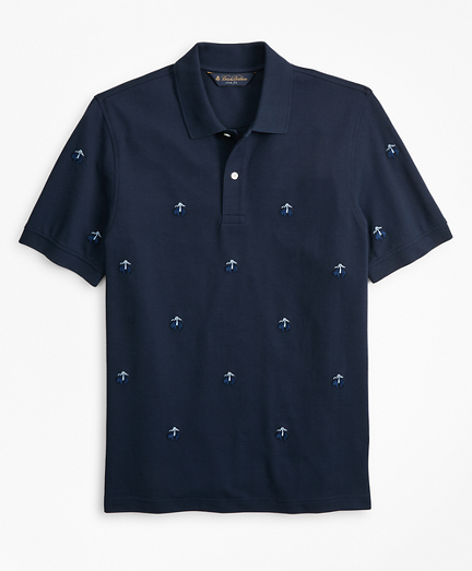 Slim Fit Embroidered Golden Fleece® Polo Shirt
