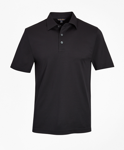 Tailored Lightweight Supima® Cotton Pique Polo Shirt