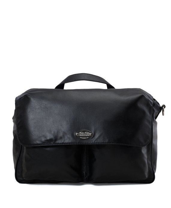 Soft Messenger Bag Black
