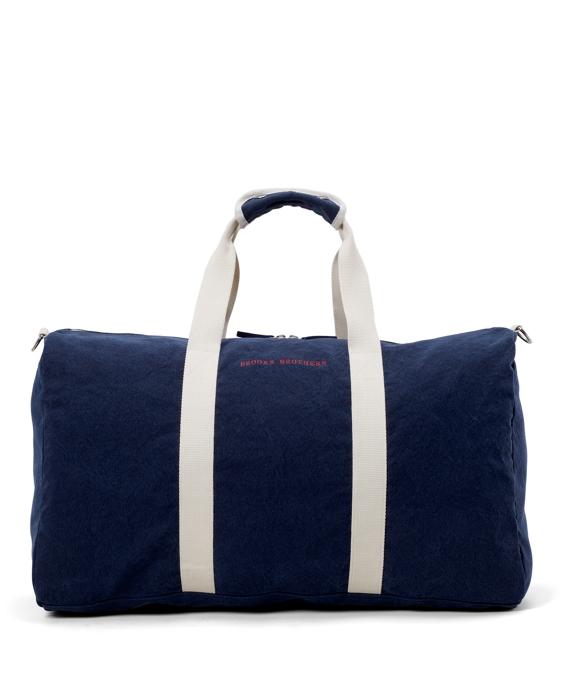 Canvas Duffel Bag Navy